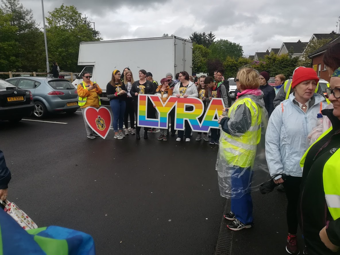 Lyra's walk group